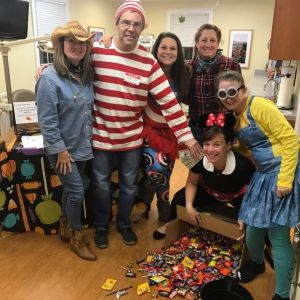 Staff At Halloween Candy Buyback Event 2017